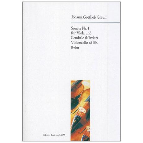 Graun, J. G.: Violasonate Nr. 1 B-Dur
