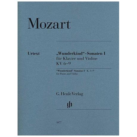 Mozart, W. A.: »Wunderkind«-Sonaten Band I KV 6–9