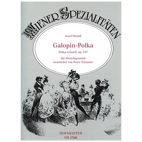 Strauß, Josef.: Galopin-Polka Op. 237