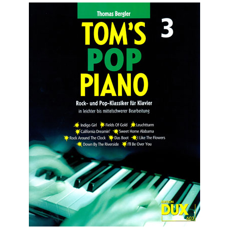 Bergler, T.: Tom's Pop Piano 3