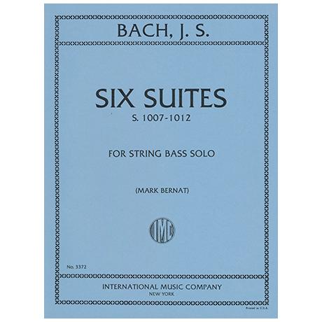 Bach, J. S.: 6 Solosuiten (Bass) BWV1007-1012