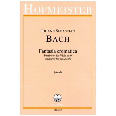 Bach, J. S.: Chromatische Fantasie BWV 903 (Arad)