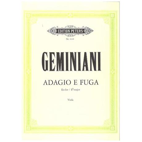Geminiani, F.: Adagio e Fuga Es-Dur
