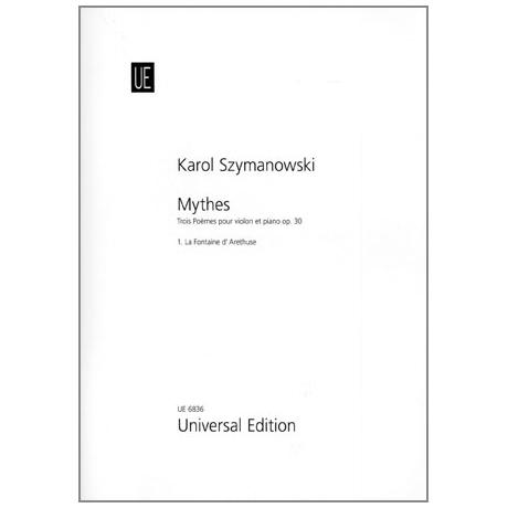 Szymanowski, K.: Mythes Op. 30/1 —  La Fontaine d'Arethuse