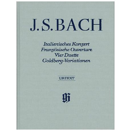 Bach, J. S.: Ital. Konzert, Franz. Ouverture, 4 Duette, Goldberg-Variationen