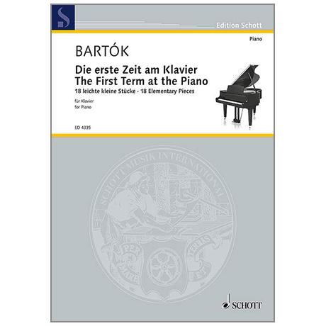 Bartók, B.: Die erste Zeit am Klavier Sz 53