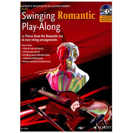 Swinging Romantic Playalong (+CD): für Violine