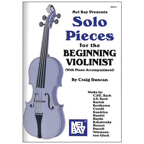Duncan, C.: Solo Pieces for the beginning Violinist (+Online PDF)