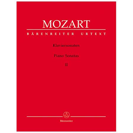 Mozart, W. A.: Klaviersonaten Band 2