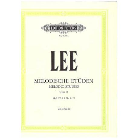 Lee, S.: Melodische Etüden Op. 31a