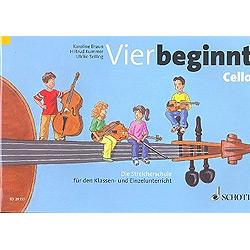 Braun, K.: Vier beginnt : Violoncello