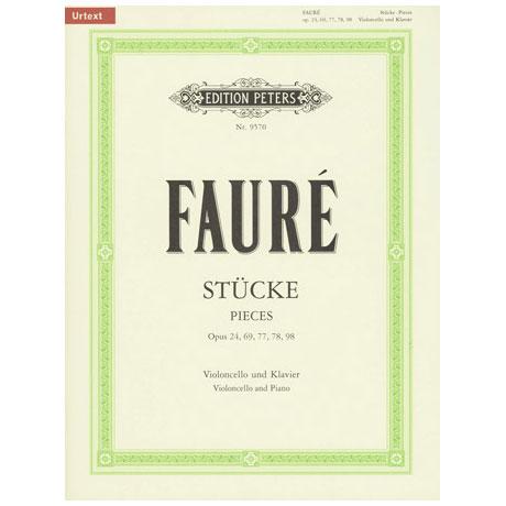 Faure, G.: Stücke für Cello + Klavier