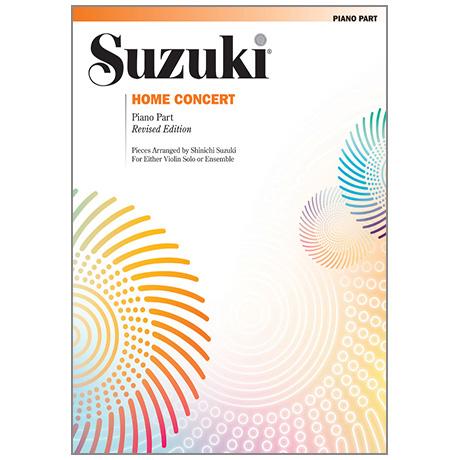 Suzuki, S.: Home Concert – Klavierbegleitung