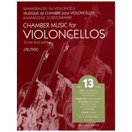 Kammermusik für Violoncelli Band 13