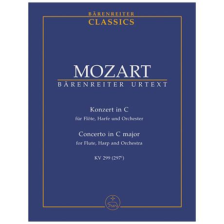 Mozart, W. A.: Konzert für Flöte, Harfe und Orchester C-Dur KV 299 (297c)