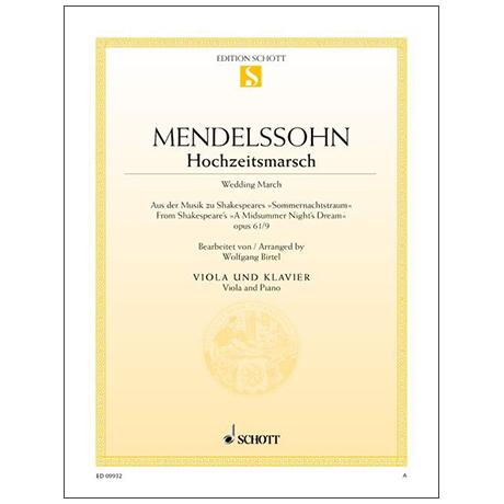 Mendelssohn Bartholdy, F.: Hochzeitsmarsch Op. 61 Nr. 9