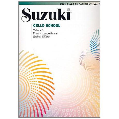 Suzuki Cello School Vol. 5 – Klavierbegleitung