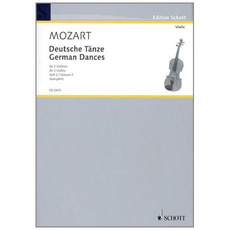 Mozart, W. A.: Deutsche Tänze Band 2
