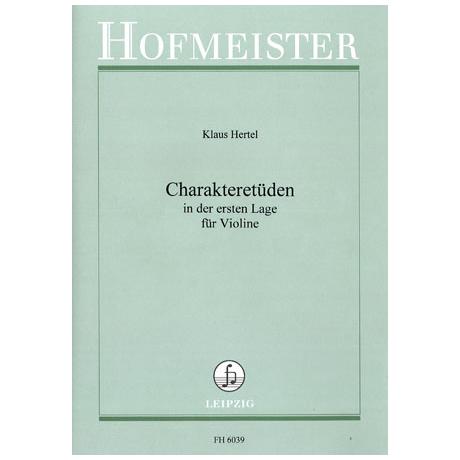 Hertel, K.: Charakteretüden