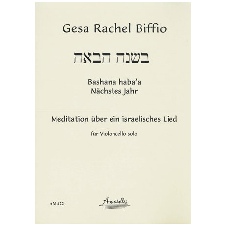 Biffio, G. R.: Bashana haba's