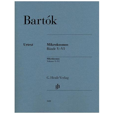 Bartók, B.: Mikrokosmos Bände V-VI