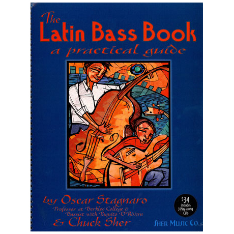 Stagnero, Oscar: The Latin Bass Book