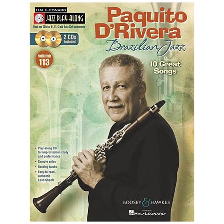 Paquito D'Rivera – Brazilian Jazz (+2 CDs)