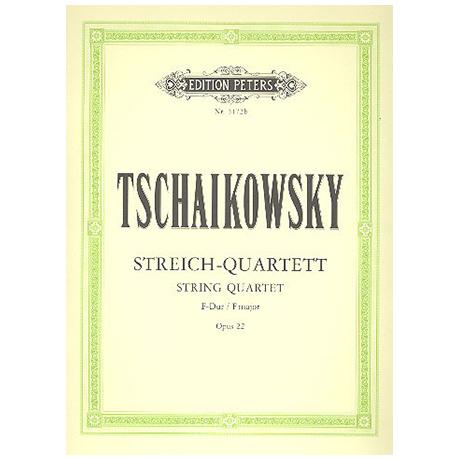Tschaikowsky, P.I.: Streichquartett Nr. 2 F-Dur, op. 22