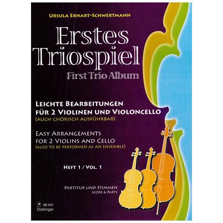 Erhart-Schwertmann, U.: Erstes Triospiel Band 1