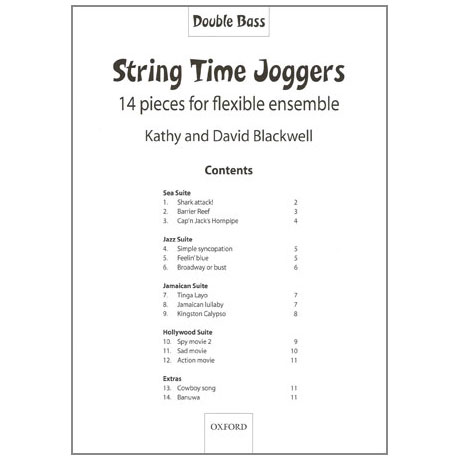 String Time Joggers (+CD)