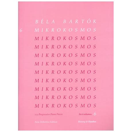 Bartók, B.: Mikrokosmos Band 6
