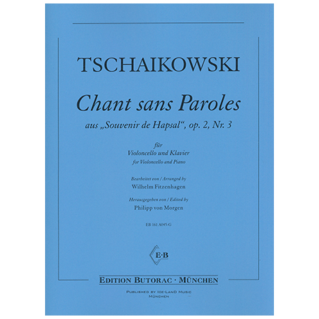 Tchaïkovski, P. I.: Chant sans paroles Op. 2/3