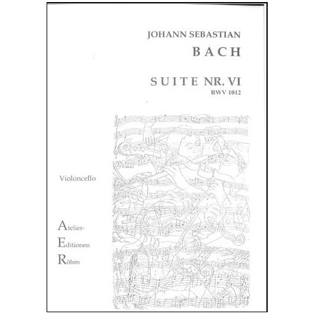 Bach, J. S.: Cello-Suite Nr. 6 BWV 1012 D-Dur