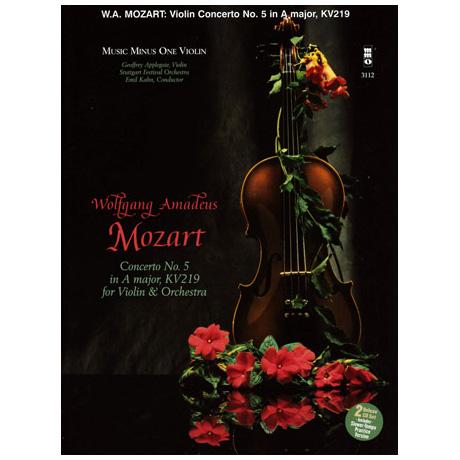Mozart: Violinkonzert Nr. 5 A-Dur KV 219 (+CD)