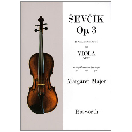 Sevcik, O.: 40 Variationen Op. 3