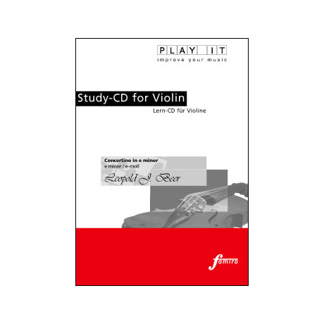 Beer, L. J.: Violinkonzert Op. 47 e-Moll Play-Along-CD (nur CD)