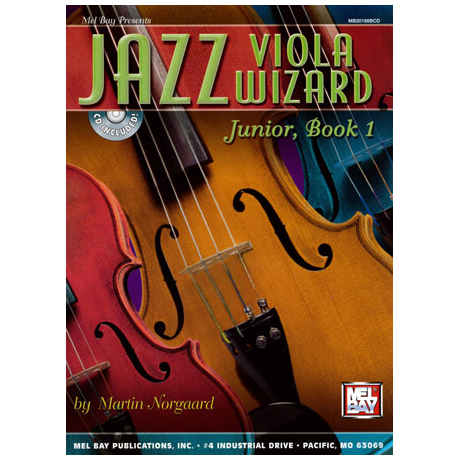 Jazz Viola Wizard Junior Band 1 (+Online Audio)