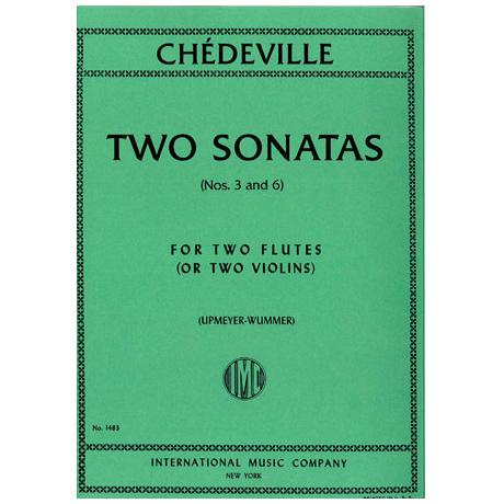 Chedeville, N.: 2 Sonaten Op. 8 Nr. 3 +6