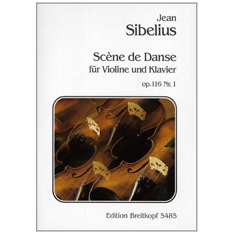 Sibelius, J.: Scène de danse Op. 116/1