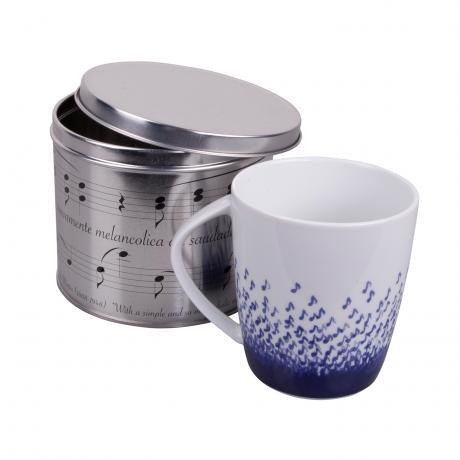Tasse à thé Notes avec boîte