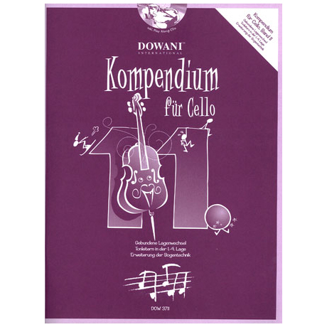 Kompendium für Cello - Band 11 (+ 2 CD's)