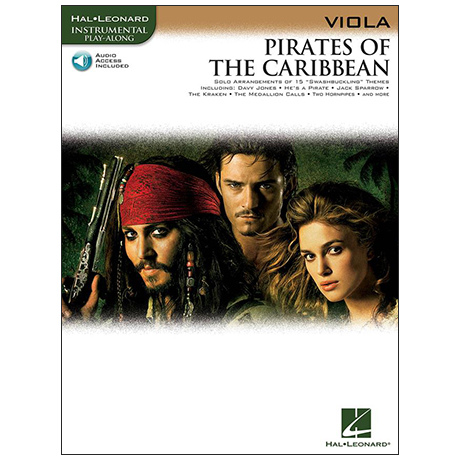 Badelt, K.: Pirates of the Caribbean (+Online Audio)