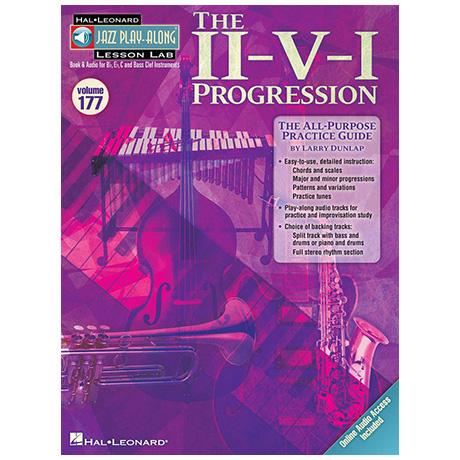 The II-V-I Progression (+2 CDs)