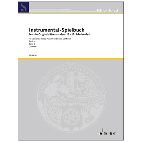 Instrumental-Spielbuch Band 2 – Partitur