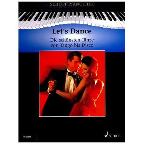 Schott Pianothek: Let's dance