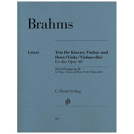 Brahms, J.: Klaviertrio Op. 40 Es-Dur