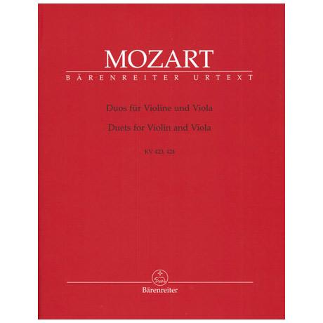 Mozart, W. A.: 2 Duos G-Dur KV 423 und B-Dur KV 424