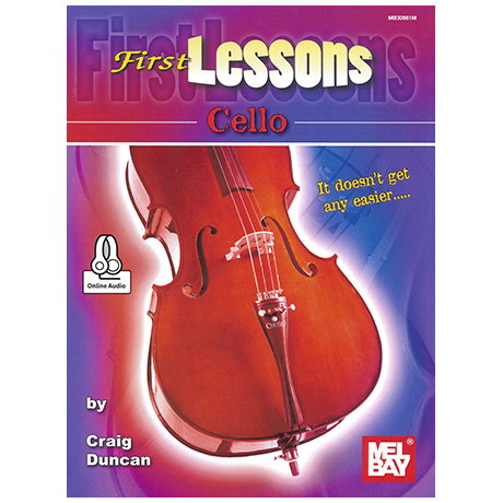 Duncan, C.: First Lessons Cello (+Online Audio)