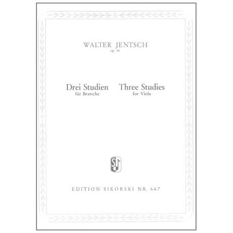 Jentsch, W.: 3 Studien Op. 36