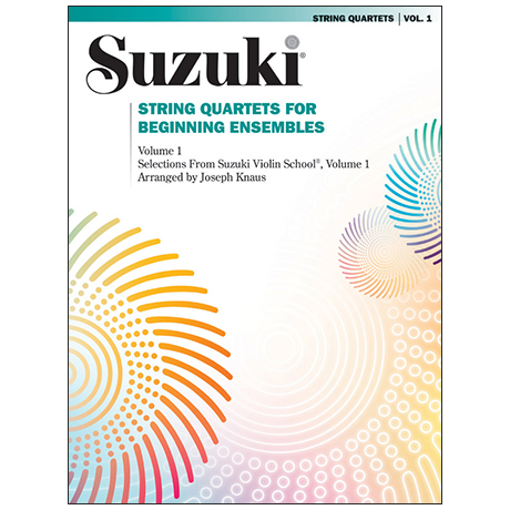 Suzuki String Quartets for Beginning Ensembles Vol. 1